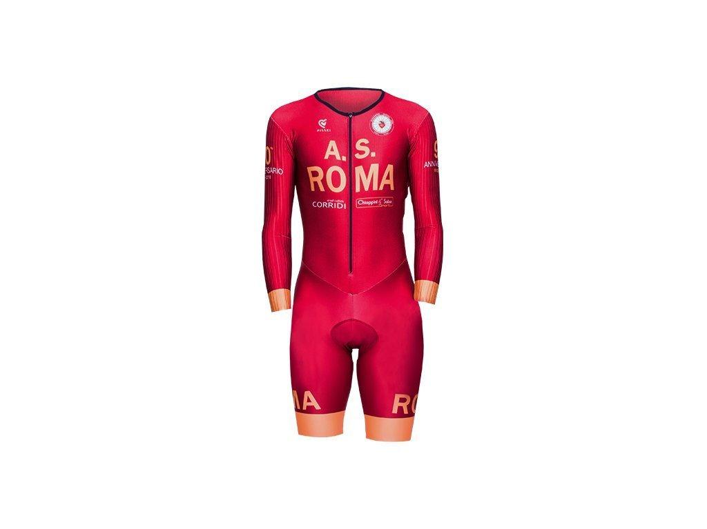 ultima collezione ultime tendenze del 2019 gamma completa di articoli Body A.S. Roma Ciclismo 90° tecnico estivo